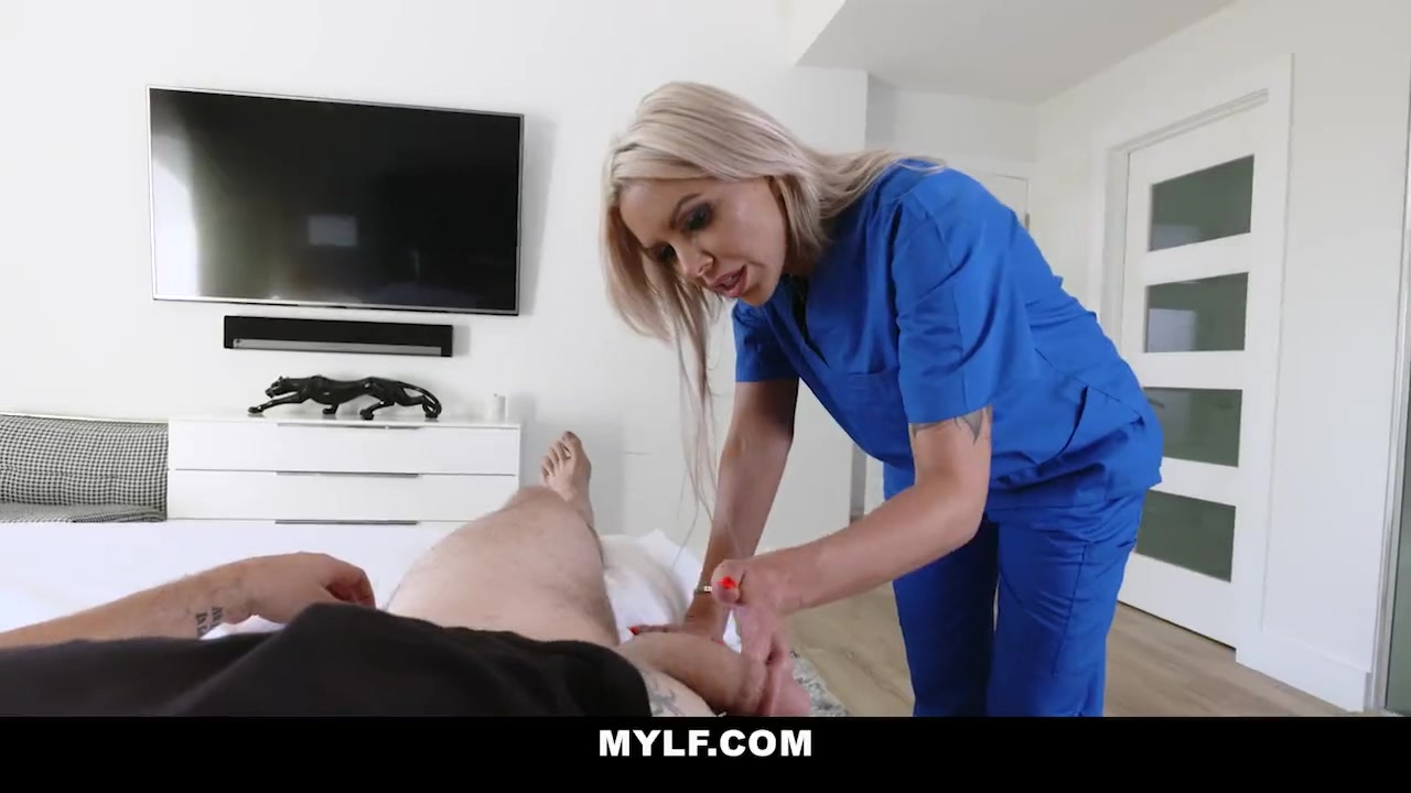 Small Tit Blonde Milf Pov