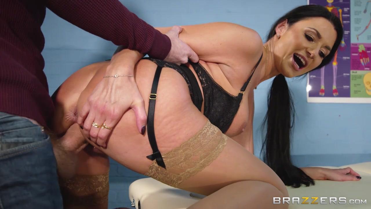 Ania Porn buxom brunette doctor ania kinski fuckedher patient
